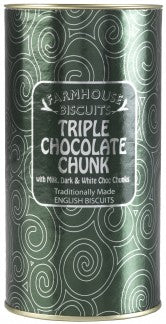 Biscuiti Triple Chocolate Chunk