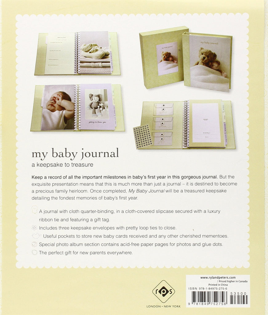 My baby's journal deluxe - britishgallery.ro - 2