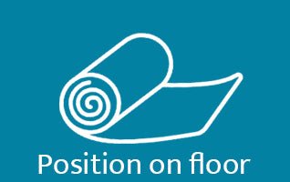 position on floor