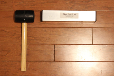 Floor Gap Fixer and Mallet Package - US and Canada Only - Floor Gap Fixer