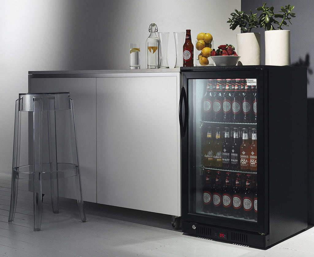 Buying Guide for Glass Door Bar Fridges