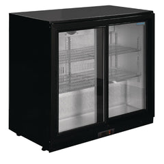 Polar G Series Counter Back Bar Cooler with Sliding Doors 208Ltr - GL003-A