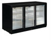 Image of Polar G-Series Counter Back Bar Cooler with Sliding Doors 330Ltr - GL006-A