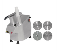 Apuro Multi Function Continuous Veg Prep Machine with 4 Discs -  S547-A