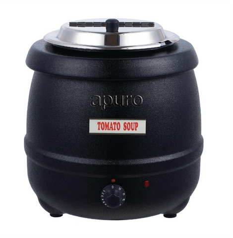 Apuro Black Soup Kettle - L715-A