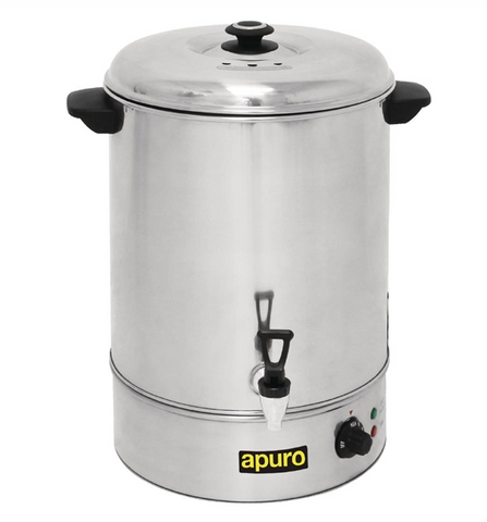 Apuro Manual Fill Hot Water Urn 40Ltr - GL349-A