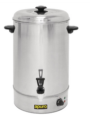 Apuro Manual Fill Hot Water Urn 30Ltr -  GL348-A
