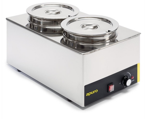 Apuro Bain Marie with Round Pots - S077-A