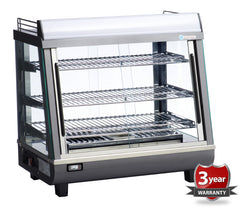ICS PACIFIC Pavia Bench Top Heated Display 100H - OzCoolers