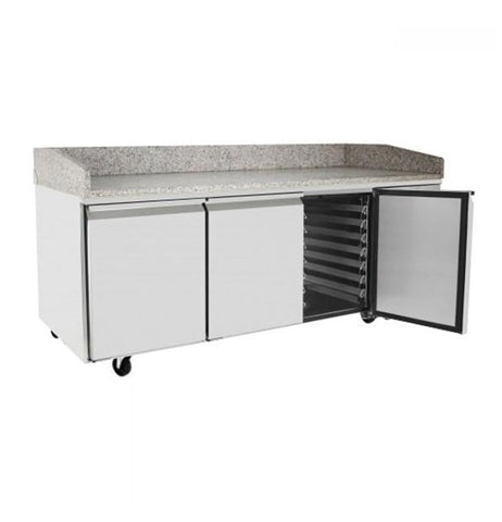 Atosa 3 Door Refrigerated Pizza Table 2010mm - EPF3485