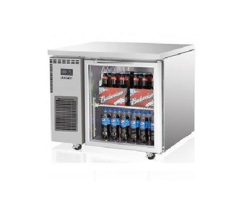SKIPIO Undercounter Fridge - 1 Glass Door - SGR9-1