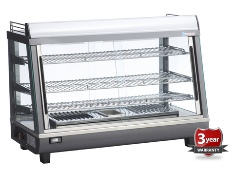 ICS PACIFIC Pavia Bench Top Heated Display 140H - OzCoolers