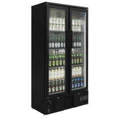 Polar Upright Back Bar Cooler Double Hinged Door GJ449-A - OzCoolers