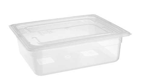 Essentials Polypropylene 1/2 Gastronorm Pan 100mm - FA823