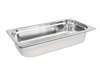 Image of Vogue Stainless Steel 1/3 Gastronorm Trays