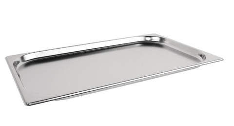 Vogue Heavy Duty Stainless Steel 1/1 Gastronorm Trays