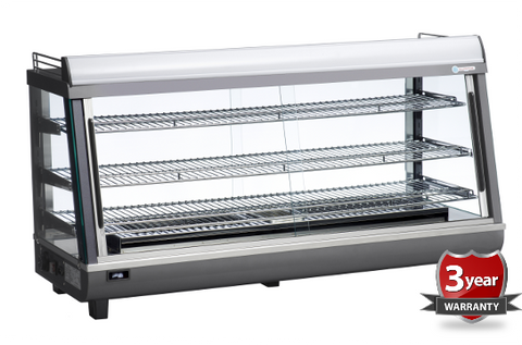 ICS PACIFIC Pavia Bench Top Heated Display 190H - OzCoolers