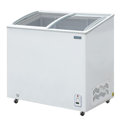 Polar G Series Counter Back Bar Cooler with Sliding Doors 208Ltr - CM433-A