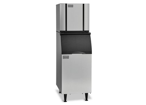 Ice-O-Matic Slim Line Modular Cube Ice Maker with Storage Bin - CIM0825 / B42