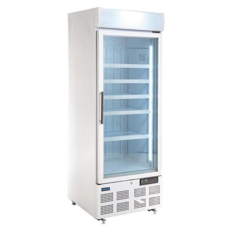 Polar G-Series Upright Display Freezer White 412Ltr - GH506-A