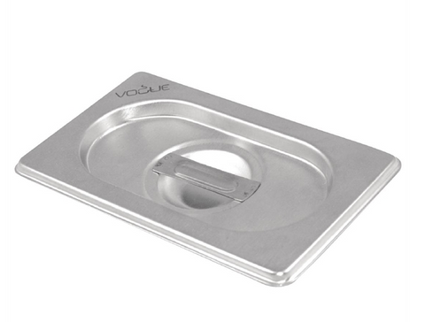 Vogue Stainless Steel 1/6 Gastronorm Tray Lid - DN739