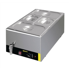 Apuro Bain Marie with Tap & Pans - S047-A