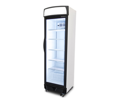 Bromic LED Flat Glass Door 372L Upright Display Fridge- GM0374LB