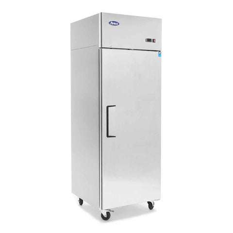 Atosa Top Mount Single Solid Door Upright Fridge - MBF8004 - OzCoolers