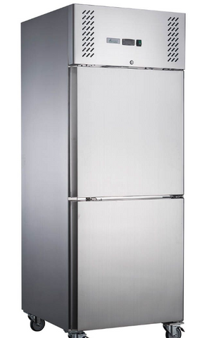 FED-X S/S Two Door Upright Freezer - XURF600S1V