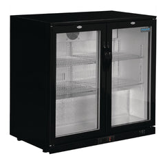 Polar G-Series Counter Back Bar Cooler with Hinged Doors 208Ltr - GL002-A