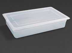 Vogue Polypropylene 1/1 Gastronorm Trays