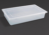 Image of Vogue Polypropylene 1/1 Gastronorm Trays
