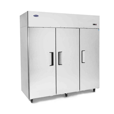 Atosa Top Mount 3 Solid Door Upright Freezer - MBF8003 - OzCoolers