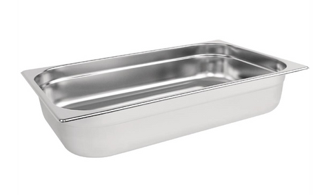 Vogue Stainless Steel 1/1 Gastronorm Trays