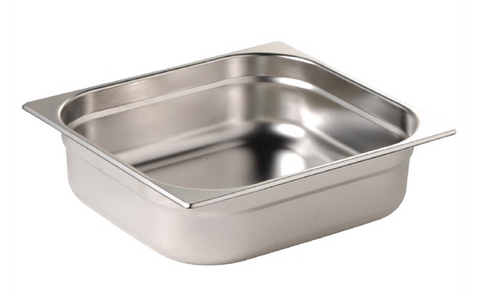 Vogue Stainless Steel 1/2 Gastronorm Trays
