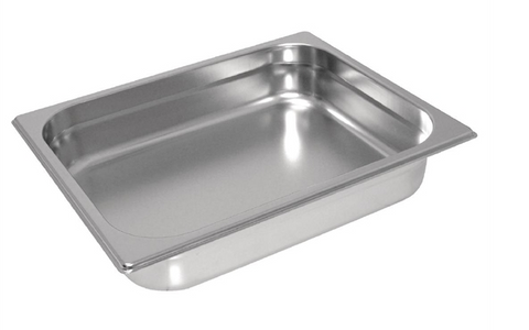 Vogue Stainless Steel Heavy Duty 1/2 Gastronorm Trays
