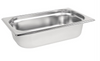 Image of Vogue Stainless Steel 1/4 Gastronorm Trays