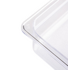 Image of Vogue Clear Polycarbonate 1/1 Gastronorm Trays