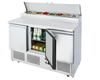Image of Atosa Three Doors Open Top Saladette 1365mm - ESL3853