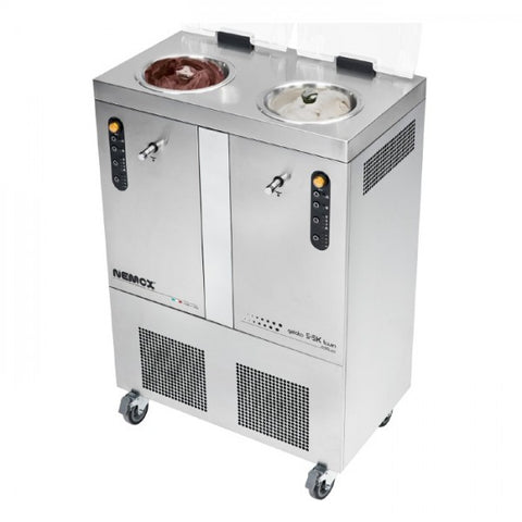 Sammic Gelato 5+5K TWIN CREA Free Standing Ice Cream Machine 2x3.2L