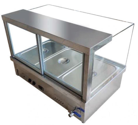 Mixrite Hot Food Display - CRB-4