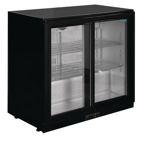 Polar G-Series Back Bar Cooler with Sliding Doors 198Ltr - GL010-A