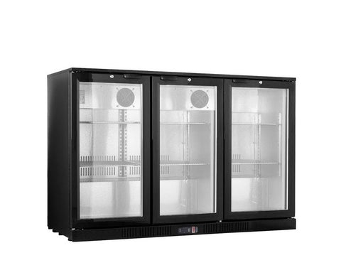 FED Under Counter Three Sliding Door Bar Cooler LG-330SC