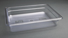 Image of Vogue Clear Polycarbonate 1/2 Gastronorm Trays