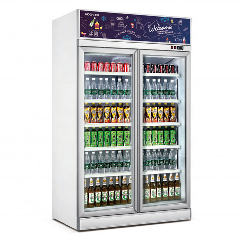 Austune Mini Mart Fridge 1800 Fridge - AGR1000-TA