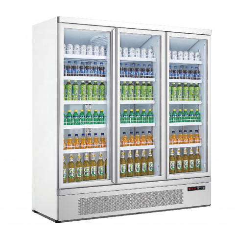 Austune Mini Mart 1800 Fridge - AGR1600-BA