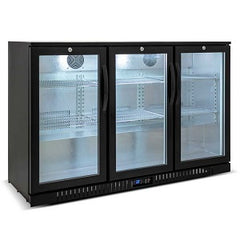 Austune 3 Glass door Back bar fridge - BB-3(900)