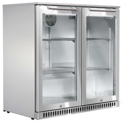 Husky 190L Two Doors Outdoor Bar Fridge ALFC2840 - OzCoolers