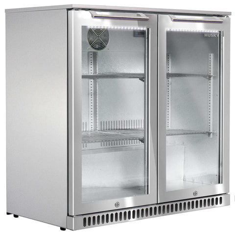 Husky Outdoor Alfresco Bar Fridge - Two Doors - OzCoolers