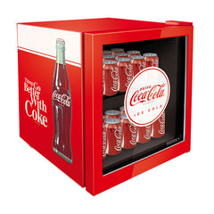 Husky 50L Coca-Cola Glass Door Bar Fridge CKK50-130-AU-HU - OzCoolers